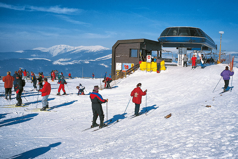 Holiday Park Vrchlabí - Liščí farma | skiing