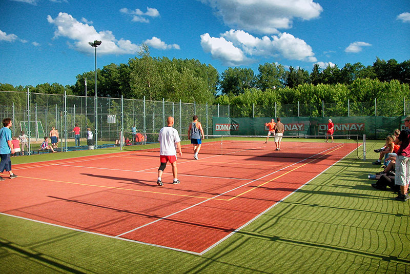 Holiday Park Vrchlabí - Liščí farma | sports facilities - tennis court